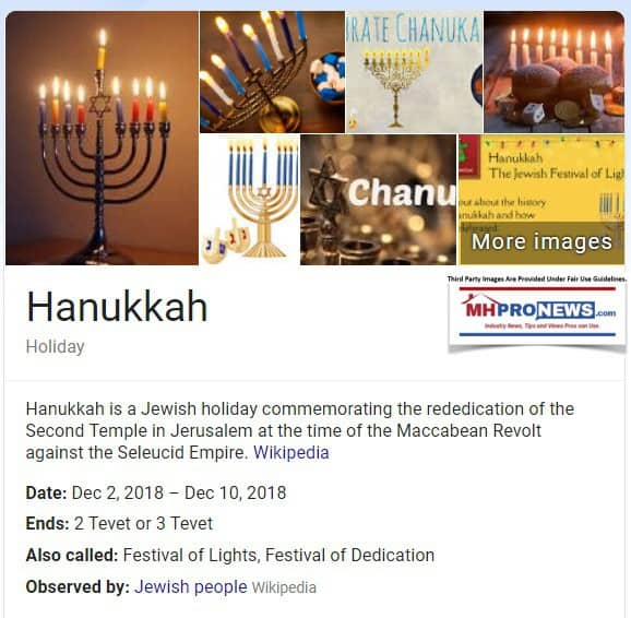 HanukkahMenorahDefinitionDatesDec2-10-2018ManufacturedhomeMastheadCommentaryLATonyKovachMHProNews