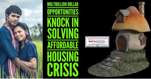 Multibillion Dollar Opportunities Knock in Solving Affordable Housing Crisis