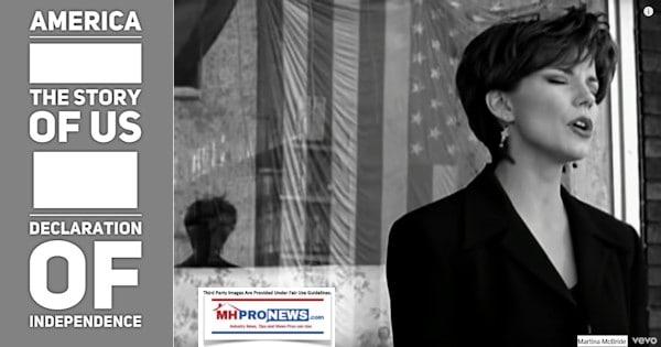 AmericaTheStoryofUSDeclarationOfIndependenceMastheadManufacturedHomeIndustryCommentaryMHProNews