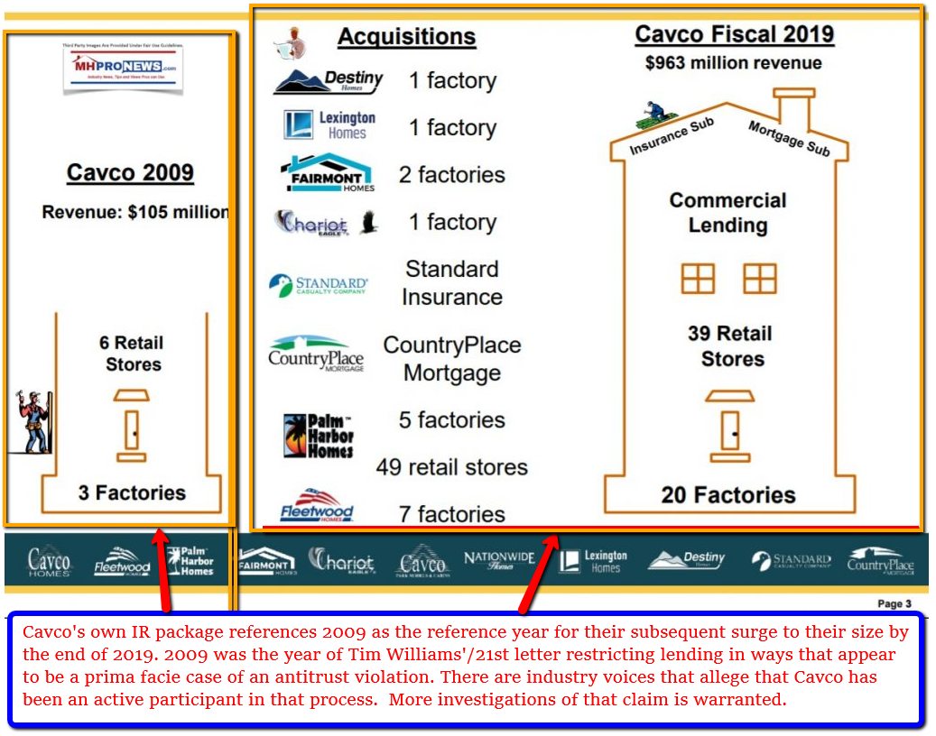 CavcoIndustries2009-2019InvestorRelationsPackagePossibleAntitrustViolationBenefitsManufacturedHousingInstituteMHI=MHProNewsFactCheckReport_001
