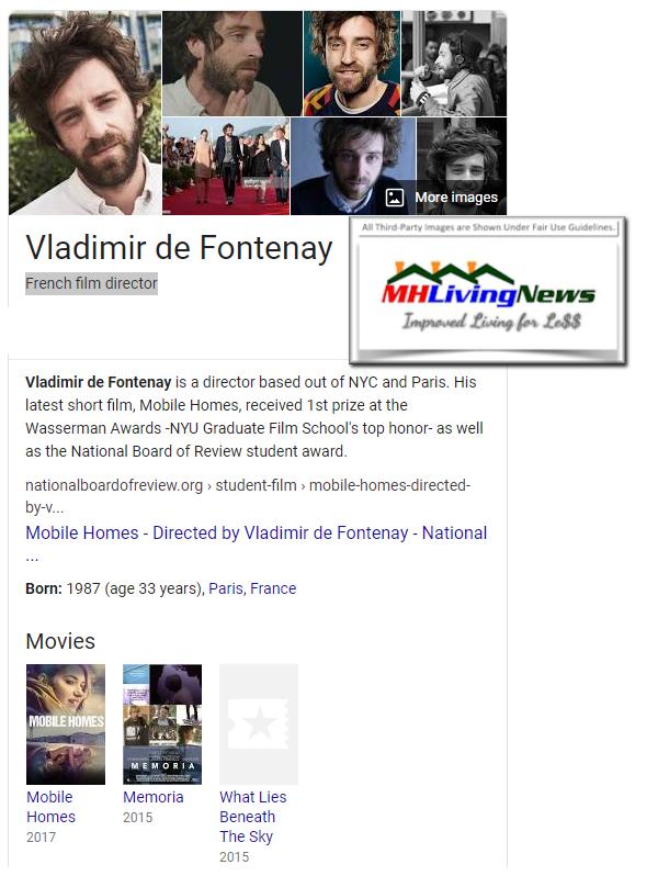 VladamirDeFontenayDirectorWriterMobileHomesWikiManufacturedHomeLivingNews