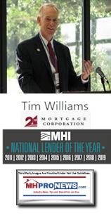 TimWilliams21stMortgageCorpManufacturedHousingInstituteNationalLenderYear2011-2019ManufacturedHomeProNews