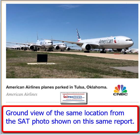 PhotoTulsaInternationalAirportMarch242020AirplanesParkedonRunwaysManufacturedHomeProNews