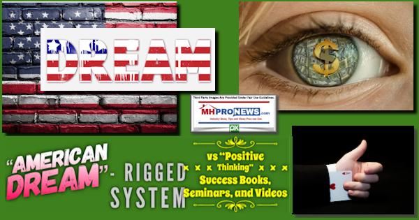 AmericanDreamRiggedSystemVsPositiveThinkingSuccessBooksSeminarsVideosMHProNewsLogoPXImages
