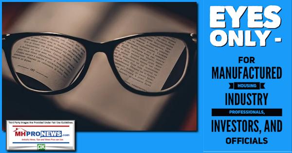 EyesOnlyForManufacturedHousingIndustryProfessionalsInvestorsOfficialsMHProNewsLogo