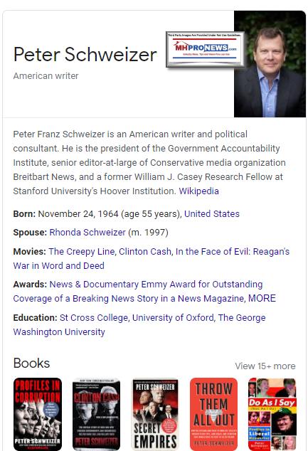 PeterSchweizerAmericanAuthorJournalistspResidentOfGovernmentAccountabilityInstituteMHProNews