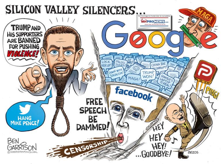 SiliconSilencersBenGarrisonGrrr8GraphicsPoliticalCartoonsMHProNews