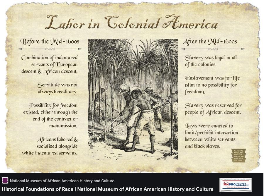 laborIndenturedServantscoloniesNationalMuseumAfricanAmericanHistoryCulture
