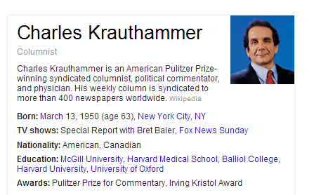 Clip Art Things That Matter Charles Krauthammer
