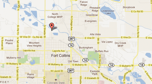 Bender_MH_community_location,_Ft_Collins_CO_google_maps