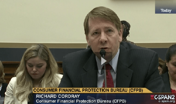 CFPB Dir. Richard_Cordray_c-span2__credit postedDaily BusinessNewsMHProNews