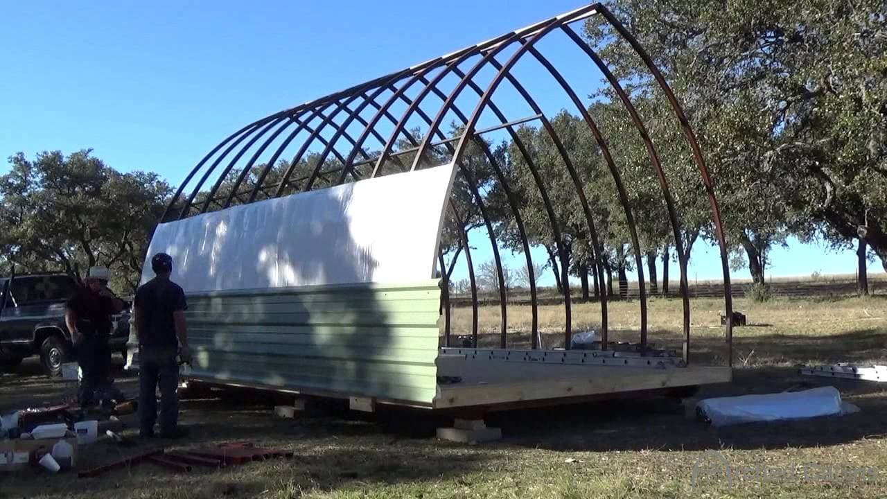 Diy Prefabricated Arched Cabin For Under 10k Yes But
