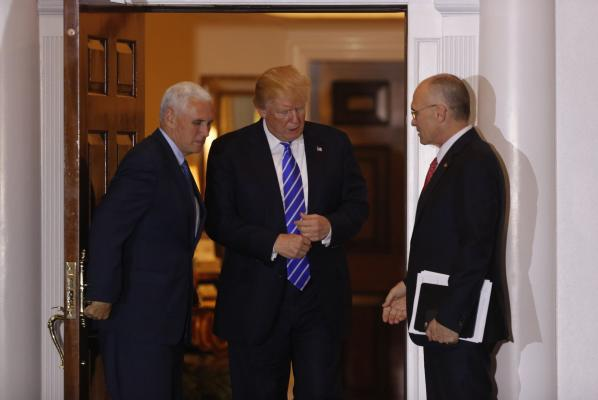 President-ElectTrumpVPMikePenceUPI-to-name-fast-food-executive-Andy-Puzder-to-run-Department-of-Labor