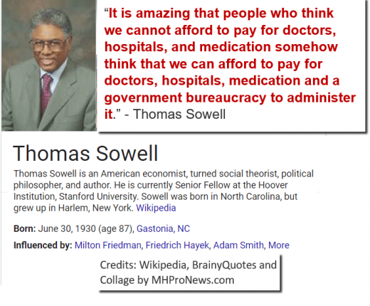 Thomas Sowell, Ph.D. Economist, Thinker,