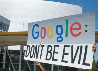 GoogleDontBeEvilCreditEwoowDailyBusinessNews