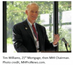 TimWilliams21stMortgageCorpThenManufacturedHousingInstituteMHIChairmanMHProNews