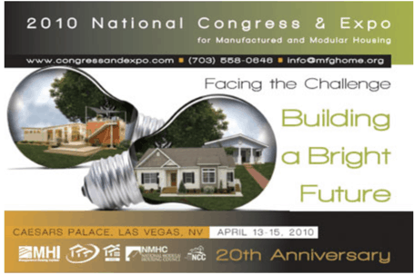 2010 national congress & expo for manufactured and modular housing