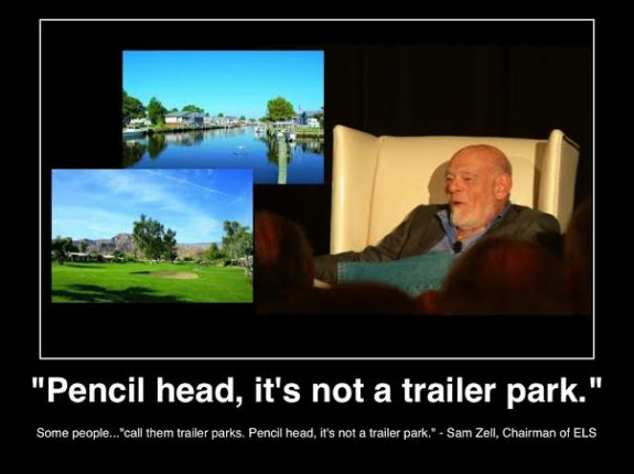 Pencil head its not a trailer park els chairman sam zell c2013lifestyle factory homes llc all rights reserved manufactured housing pro news