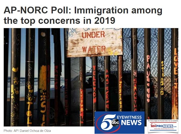 APNorcPollImmigrationTopConcern2019DailyBusinessNEwsMHProNews