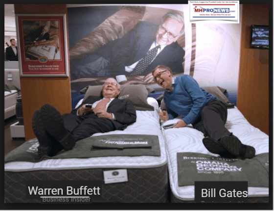 WarrenBuffettBillGatesBusinessInsiderDailyBusinessNewsMHProNews-560x430
