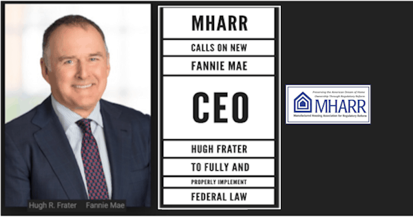 MHARR-Calls-on-New-Fannie-Mae-CEO-Hugh-Frater-to-Fully-and-Properly-Implement-Federal-Law