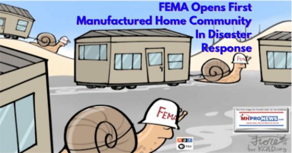 FEMAopensFirstManufacturedHomeCommunityDisasterResponseCampFiresCaliforniaMHProNews