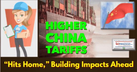 HigherChinaTariffsHItsHomeBuildingImpactsAheadManufacturedHousingIndustryMHProNews600