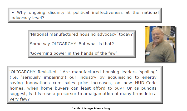 ManufacturedHousingIndustryMonopoly-Oligarchy-GeorgeAllen-PostedDailyBusinessNews