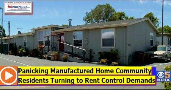 PanickingManufacturedHomeCommunityResidentsTurningRentControlDemandsDailyBusinessNewsMHproNews