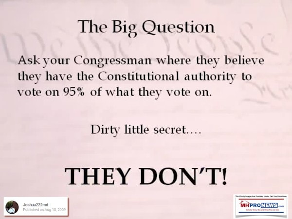 TheBigQuestionArticle1Section8LimitingCongressPowerMHProNews