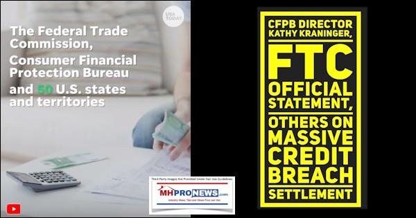 CFPBDirectorKathyKraningerFTCOfficialStatementOthersMassiveCreditBreachSettlementMHProNews