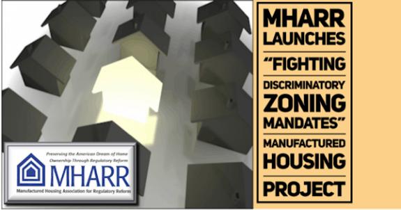 MHARRLaunchesFightingDiscriminatoryZoningMandatesManufacturedHousingProject