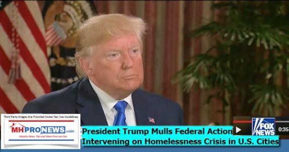 PresidentTrumpMullsFederalActionInterveningHomelessCrisisInUSCitiesDailyBusinessNewsMHProNews