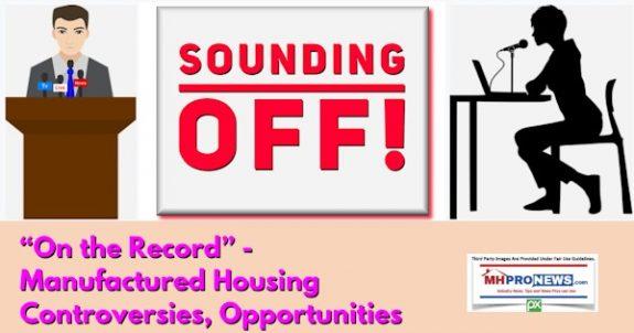 SoundingOffOnRecordManufacturedHousingControversiesOpportunitiesMHProNews