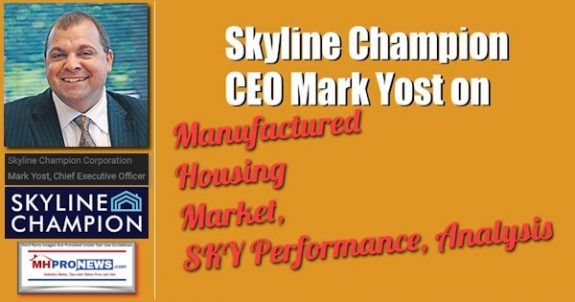 SkylineChampionLogoPresidentCEOMarkYostPhotoManufacturedHousingProNews