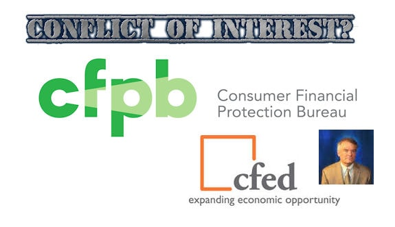 conflict-of-interests-corporation-for-enterprise-development-cfed-consumer-financial-protection-bureau-cfpb-posted-manufacturedHousingProNews