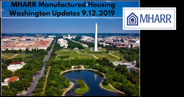 MHARRManufacturedHousingWashingtonUpdates9.122019ManufacturedHousingAssocRegulatoryReform