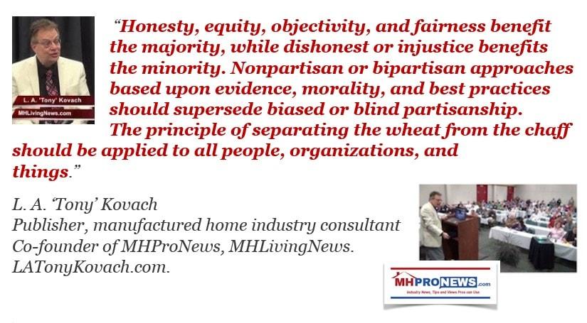 BipartisanNonpartisanWheatChaffHonestyEquityObjectivityFairnessLATonyKovachQuoteMHProNews