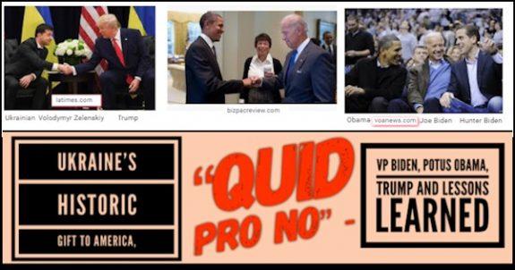 UkraineHistoricGiftAmericaQuidProNoVPBidenPOTUSObamaTrumpLessonsLearnedManufacturedHomeProNews