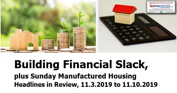 BuildingFinancialSlackPlusSundaManufacturedHousingHeadlinesReview11.2to11.10.2019MHProNews
