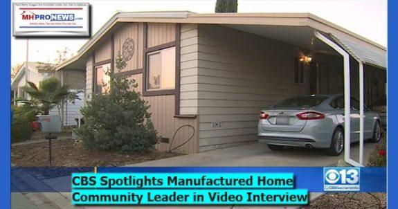 CBS13SpotlightsManufacturedHomeCommunityLeaderInVideoInterviewManufacturedHomeProenws