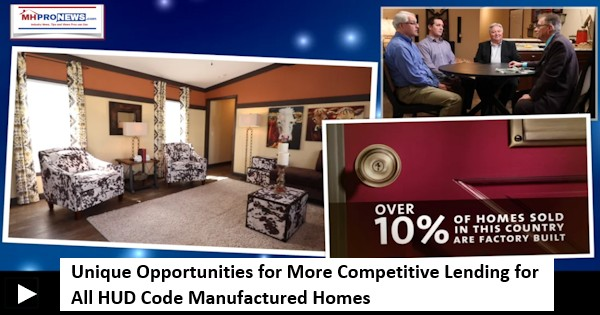UniqueOpportunitiesForMoreCompetitiveLendingOnAllHUDCodeManufacturedHomes