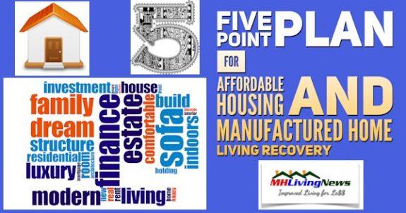 5PointPlanFoAffordableHousingAndManufacturedHomeLivingRecoverySB-ManufacturedHomeLivingNews