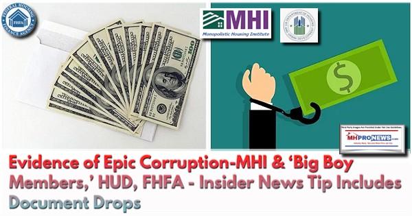 EvidenceEpicCorruptoinMHI-HUD-FHFA-NewsTipIncludesDocumentDropsManufacturedHomeProNews