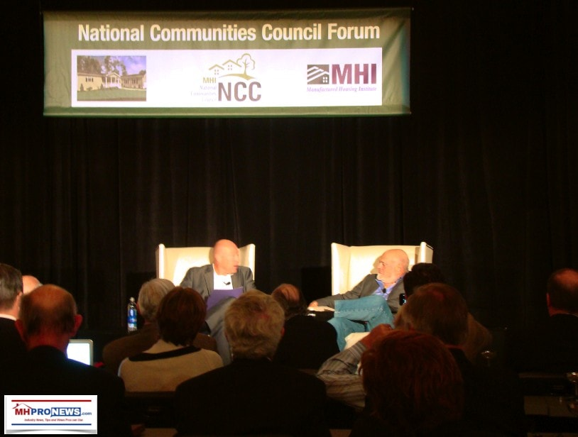 nathan-smith-ssk-communities-mhi-chairman-left-sam-zell-equity-lifestyle-properties-els-right-10-17-2013ncc-fall-forum-c-manufactured-home-pro-news