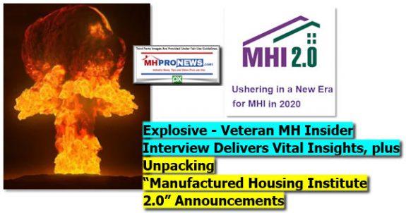 ExplosiveVeteranMHInsiderInterviewDeliversVitalInsightsPlusUnpackingManufacturedHousingInstitute2.0AnnouncementLogoManufacturedHomeProNews
