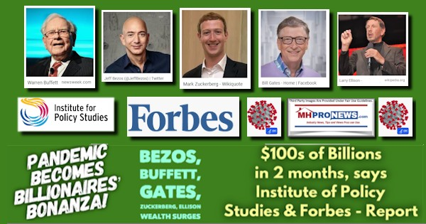 Pandemic Becomes Billionaires' Bonanza! Bezos, Buffett, Gates ...