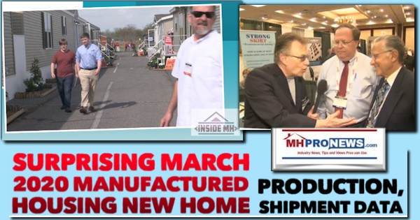 SurprisingMarch2020ManufacturedHousingNewHomeProductionShipmentDataManufacturedHomeProNews