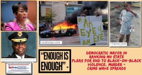 """EnoughIsEnough""DemocraticMayorKeishaBottomsPhotoChiefRodneyBryantPhotoRankingMHStatePleasEndBlack-on-BlackViolenceMurderCrimeWaveSpreadsMHProNews"