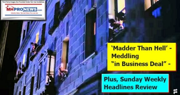 """MadderThanHell""Meddling""inBusinessDeal""PlusSundayWeeklyHeadlinesReview7.19to7.26.2020FilmstruckLogoMHProNewsLogo"